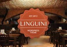 Linguini restaurant responsive wordpress theme